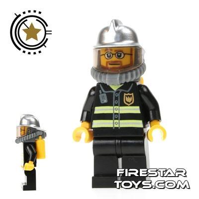 LEGO City Mini Figure – Fireman With Airtank