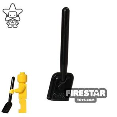 LEGO - Shovel - Round End - Black