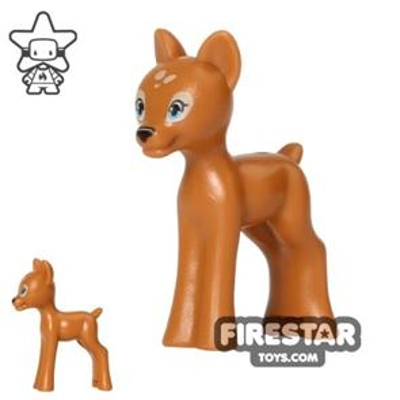 LEGO Animals Mini Figure - Deer Fawn - Medium Dark Flesh