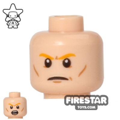 LEGO Mini Figure Heads - Thor - Stern/Shouting