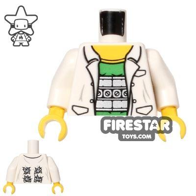 LEGO Mini Figure Torso - Doc Ock Lab Coat