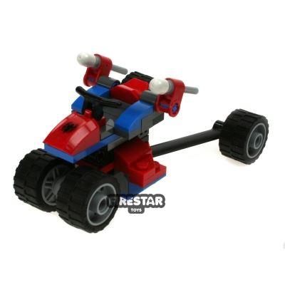 Custom Mini Set - Super Heroes - Spider-Trike