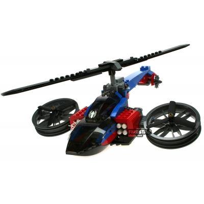 Custom Mini Set - Super Heroes - Spider-Helipcopter