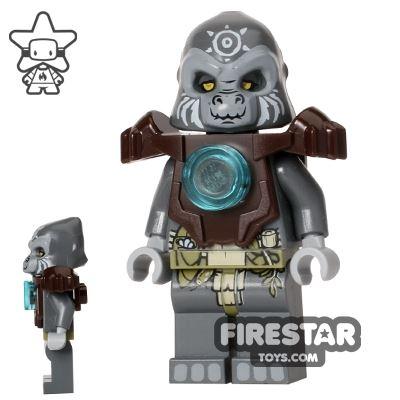 LEGO Legends of Chima Minifigure Grumlo Dark Brown Armour