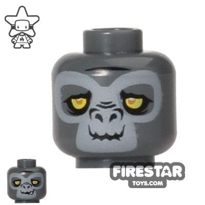 LEGO Mini Figure Heads - Gorilla - Grumlo