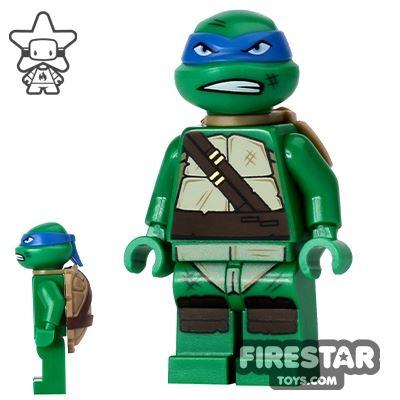 LEGO Teenage Mutant Ninja Turtles Mini Figure - Leonardo - Snarl