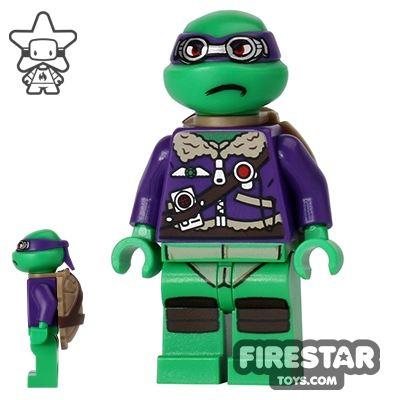 LEGO Teenage Mutant Ninja Turtles Mini Figure - Donatello - Purple Jacket