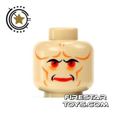 LEGO Mini Figure Heads - Star Wars Bib Fortuna Head