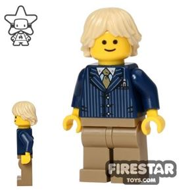 LEGO City Mini Figure - Businessman - Pinstriped Jacket