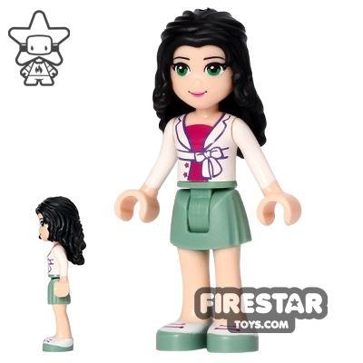 LEGO Friends Mini Figure - Emma - White Jacket