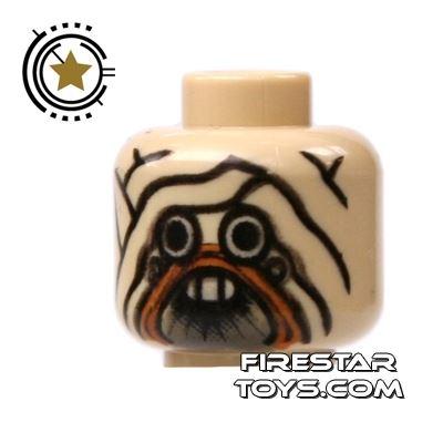 LEGO Mini Figure Heads - Tusken Raider