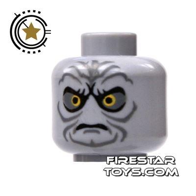 LEGO Mini Figure Heads - Emperor Palpatine