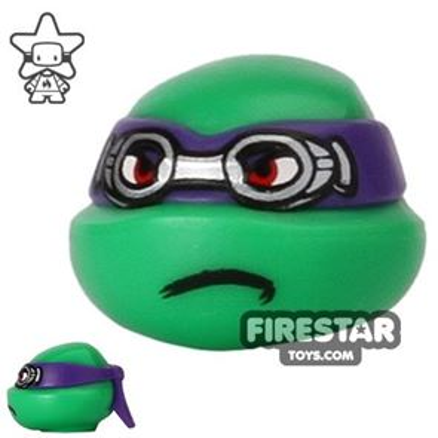 LEGO Mini Figure Heads - Teenage Mutant Ninja Turtles - Donatello Goggles