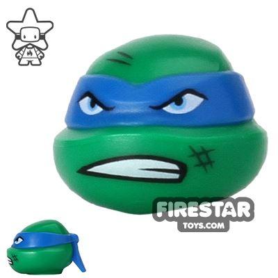 LEGO Mini Figure Heads - Teenage Mutant Ninja Turtles - Leonardo Scowl