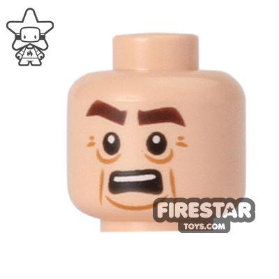 LEGO Mini Figure Heads - Teenage Mutant Ninja Turtles - Victor Bared Teeth