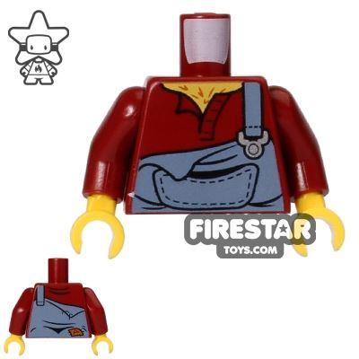 LEGO Mini Figure Torso - Dungarees
