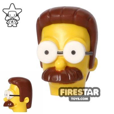 LEGO Mini Figure Heads - The Simpsons - Ned Flanders