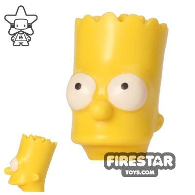 LEGO Mini Figure Heads - The Simpsons - Bart Simpson