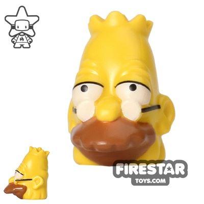 LEGO Mini Figure Heads - The Simpsons - Grandpa Simpson
