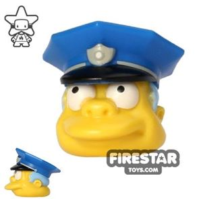 LEGO Mini Figure Heads - The Simpsons - Chief Wiggum