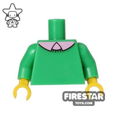 LEGO Mini Figure Torso - The Simpsons - Ned