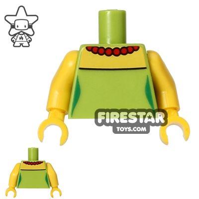 LEGO Mini Figure Torso - The Simpsons - Marge Simpson