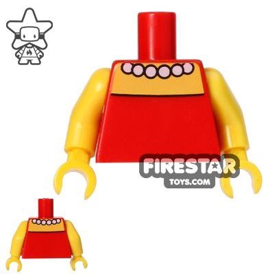 LEGO Mini Figure Torso - The Simpsons - Lisa Simpson