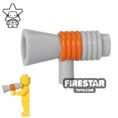 LEGO - Megaphone - Light Blueish Gray and Orange