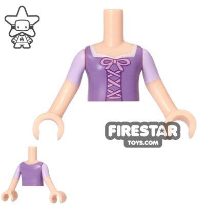 LEGO Disney Princess Mini Figure Torso - Lavender Corset