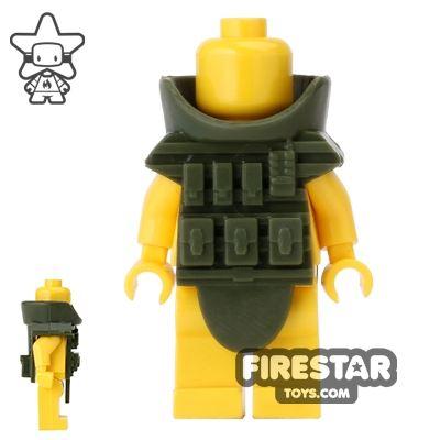 CombatBrick - Juggernaut Disposal Suit - Dark Green