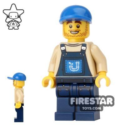 The LEGO Movie Mini Figure - Plumber Joe