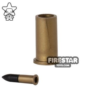 Brickarms - Howitzer Loadable Shell Casing - Bronze