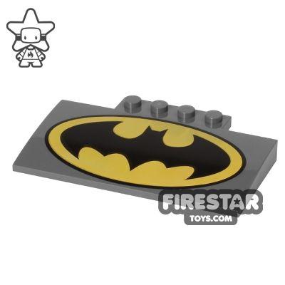 Slope Curved 5x8 Batman Logo