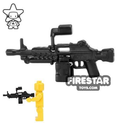 SI-DAN - MK46 Machine Gun - Black