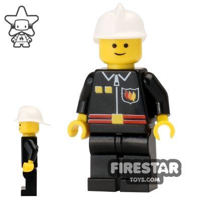 LEGO City Mini Figure - Fire - Flame Badge