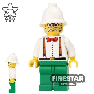 LEGO Adventurers Mini Figure - Dr Charles Lightning