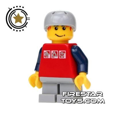 LEGO City Mini Figure - Skateboarder