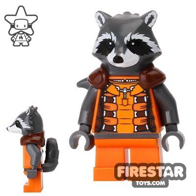 LEGO Super Heroes Mini Figure - Rocket Raccoon