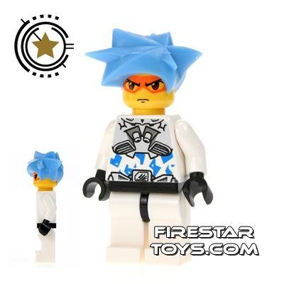 LEGO Exo Force Mini Figure - Hikaru White Camouflage