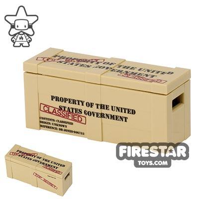 Custom Design - Classified Top Secret Crate