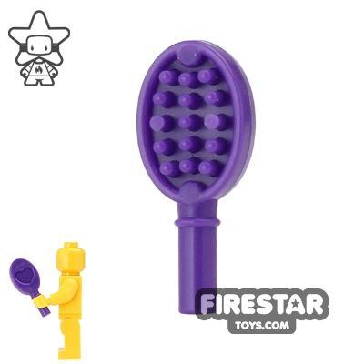 LEGO - Hair Brush - Dark Purple