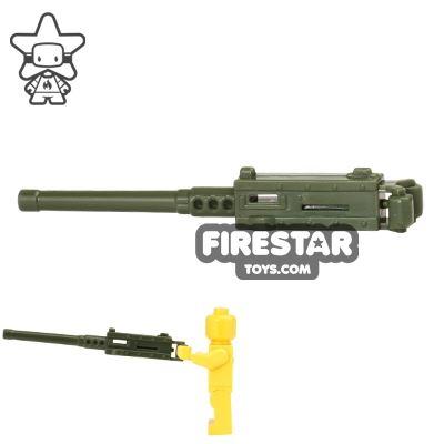 CombatBrick - Browning M2 M2HB MA Deuce .50 Caliber - Dark Green