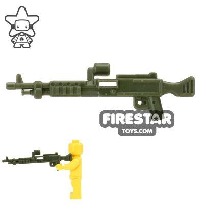CombatBrick - M240 Machine Gun - Dark Green