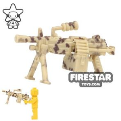 SI-DAN - M249 Machine Gun - Camo