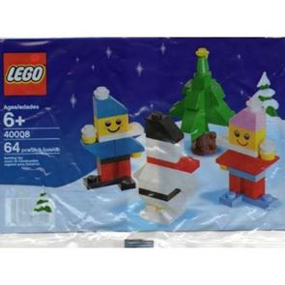 LEGO Seasonal 40008 - Snowman Building Set
