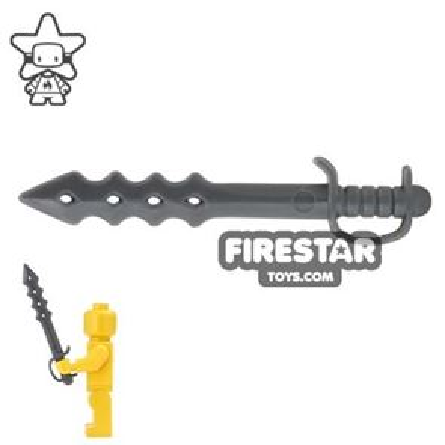 BrickForge - Dragon Sword - Dark Blueish Gray