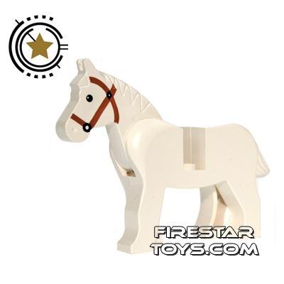 LEGO Animals Mini Figure - White Horse