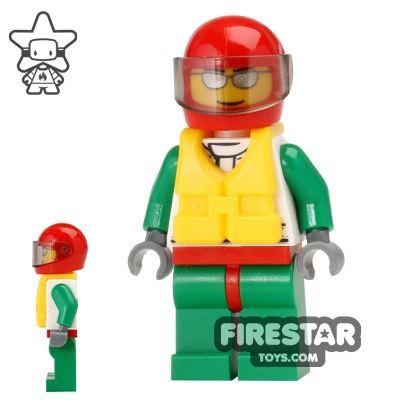 LEGO City Mini Figure - Fire Boat Driver 2