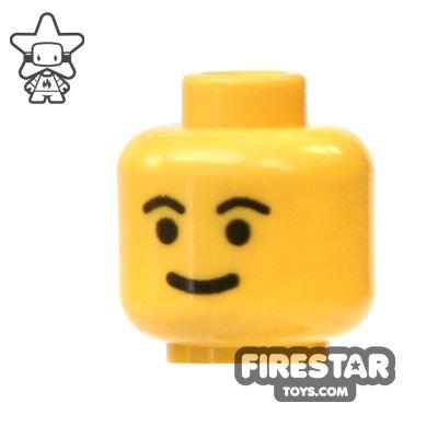 LEGO Mini Figure Heads - Simple Face