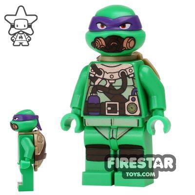 LEGO Teenage Mutant Ninja Turtles Mini Figure - Donatello - Scuba Gear